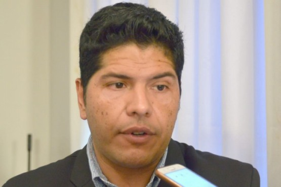 El secretario de Trabajo, Cristian Ayala,