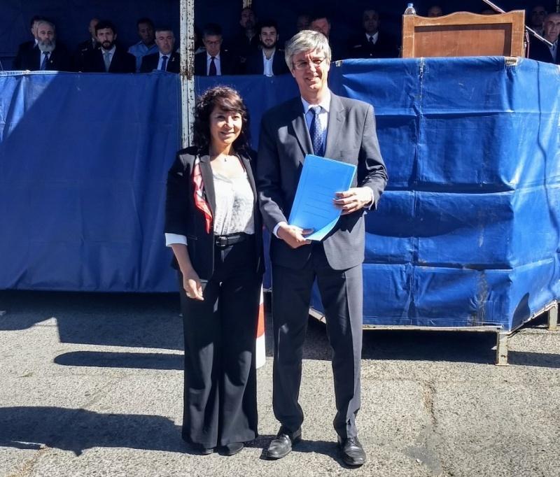 El intendente Sergio Ongarato.