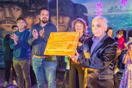 Homenaje al reconocido malambista Miguel Palomino
