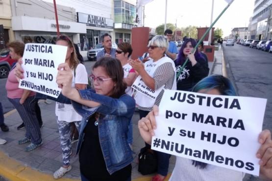 La marcha en Río Gallegos se volverá a repetir hoy.
