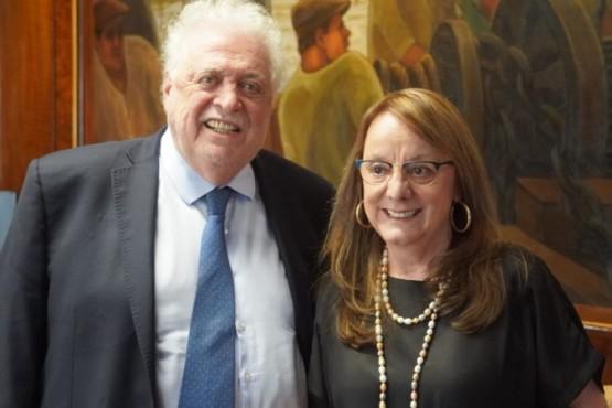 Alicia Kirchner junto al Ministro Ginés González García.