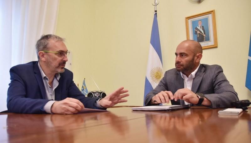 Fabián Puratich y Federico Massoni.