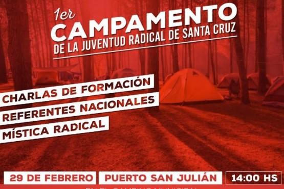 Se llevará a cabo el Primer Campamento de la Juventud Radical