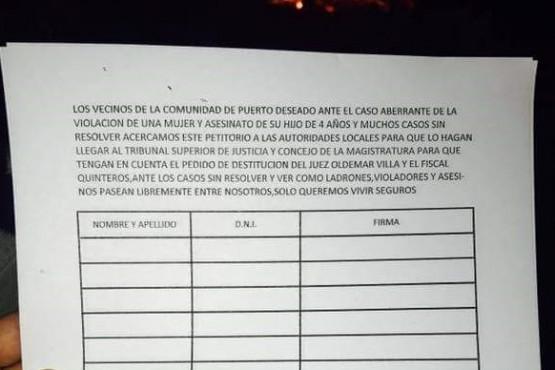 Los vecinos juntan firmas para presentar al TSJ para remover al magistrado.