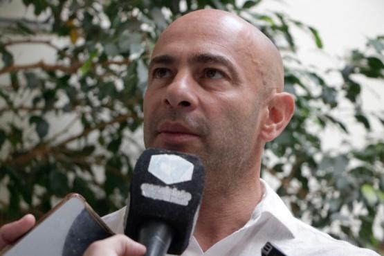 El ministro de Seguridad, Federico Massoni.