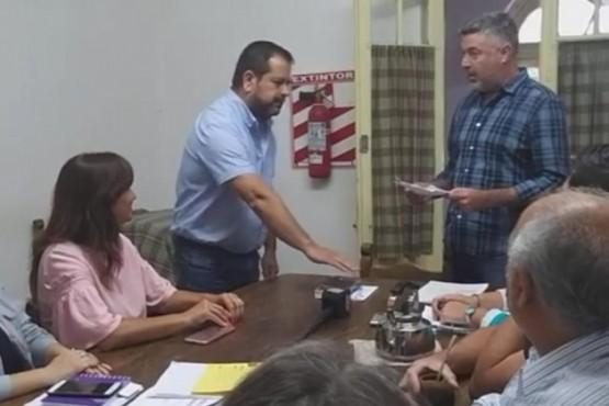 Asumió el Concejal Rubén Álvarez