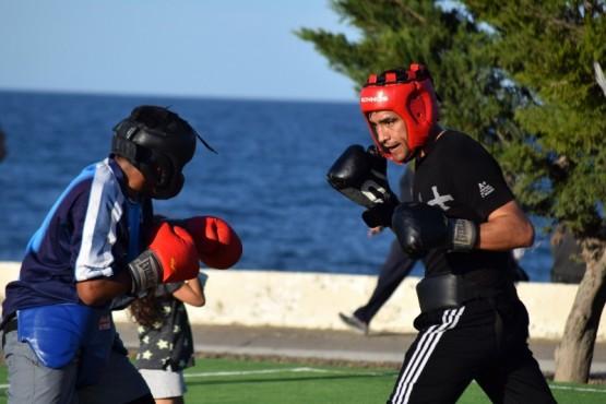 Las Escuelas Municipales de boxeo realizaron demostraciones