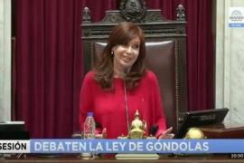 """Costa se abstuvo a la hora del voto y Cristina indicó """"Costa... sí claro, ya me imaginaba"""""""