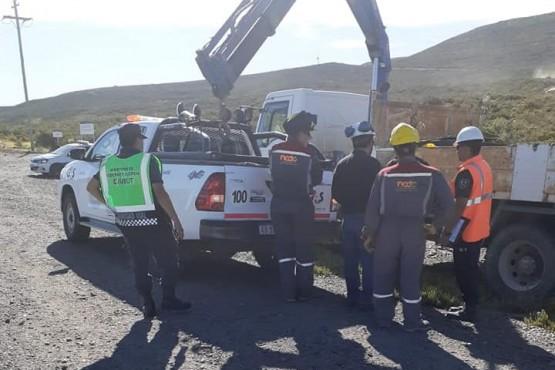 La policía llevó a cabo controles vehículares