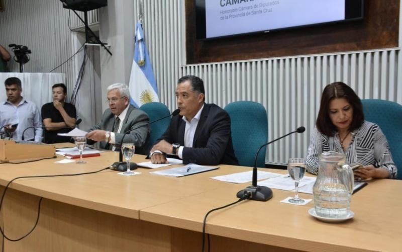 Eugenio Quiroga presidió la Sesión.