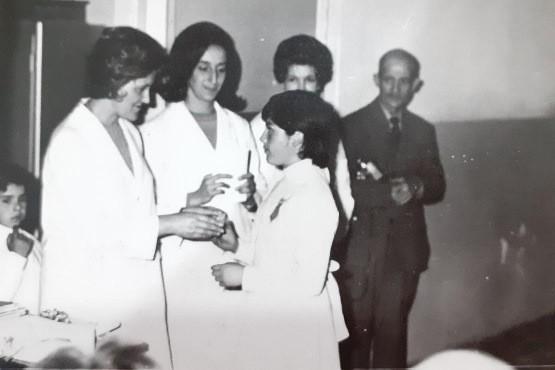 Alicia García, ha sido la primer Enfermera egresada de la Escuela de Enfermería de Río Gallegos