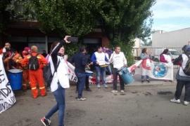 ADOSAC con paro y marcha frente al CPE
