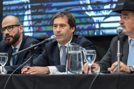El intendente Juan Pablo Luque,