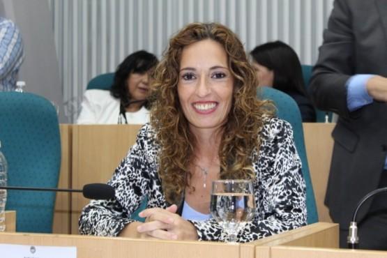 La diputada del Frente de Todos Rocío García.