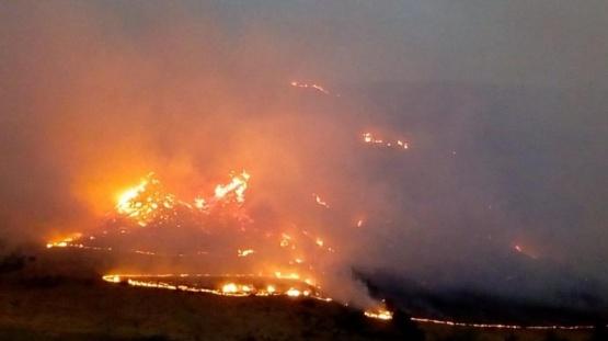 Las llamas llevó a aumentar los trabajos.