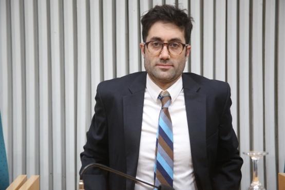 El diputado Nicolás Michudis asumiría en la empresa de energía provincial. (Archivo).