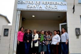 Mujeres visitaron el Centro de Referencia del Ministerio de Desarrollo Social de la Nación