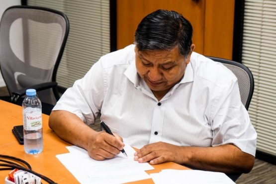 Petroleros firmaron la suba de dos Equipos al área de Tecpetrol