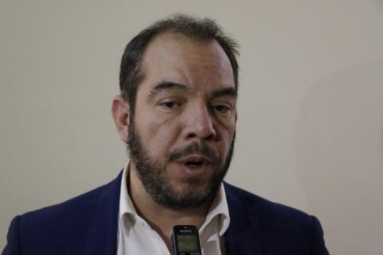 El ministro de Gobierno y Justicia, José María Grazzini.