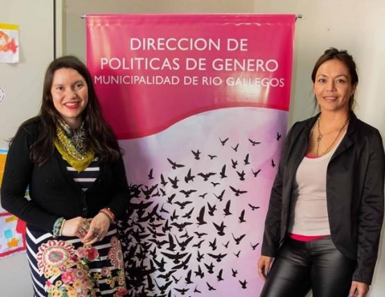 Referentes de la Dirección de Género.