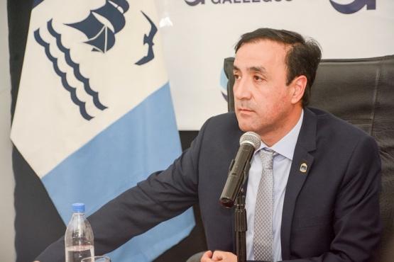 El intendente Pablo Grasso