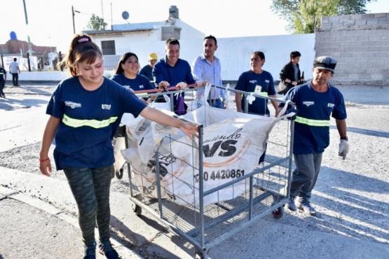 Presentaron al grupo de recuperadores urbanos que trabajará en el Barrio INTA