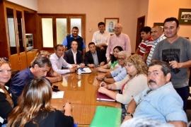 Acuerdo entre el Municipio y los gremios por el pago de retroactivos y asignaciones