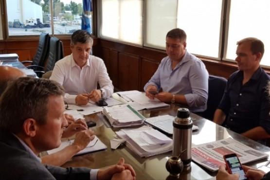 Aguilera gestiona con ENRE la desvinculación de la Cooperativa de Rawson con la Cooperativa de Dolavon