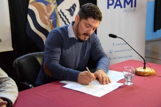 Gustavo Bórquez, delegado PAMI Santa Cruz