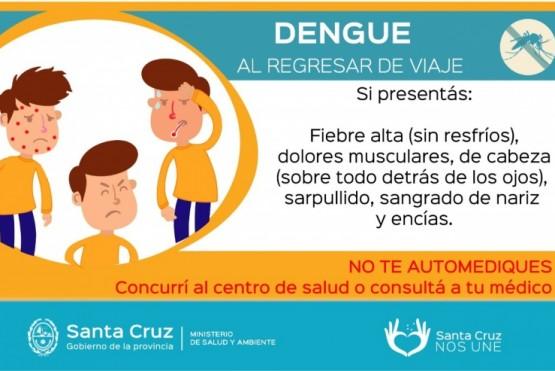 Dos pacientes presentaron sintomatología de Dengue