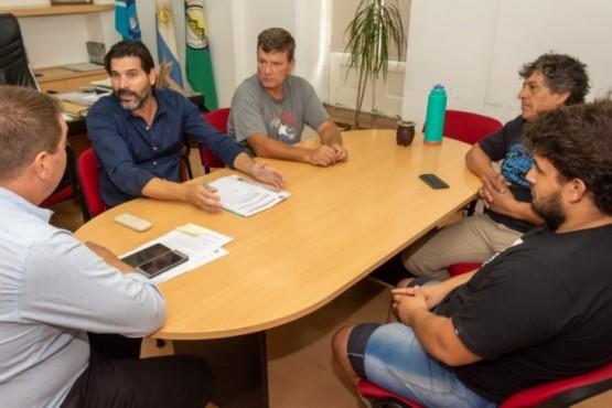 Biss recibió a autoridades de la Asociación de Motociclistas