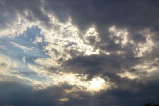 Nublado (foto ilustrativa)