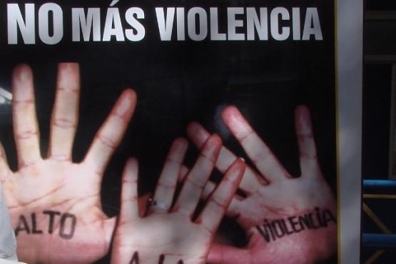 Si sos víctima de violencia no te calles, denunciá.
