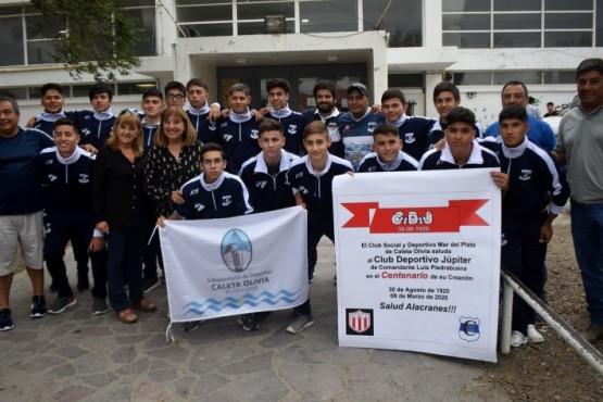 Club Mar del Plata emprendió viaje a Comandante Luis Piedrabuena