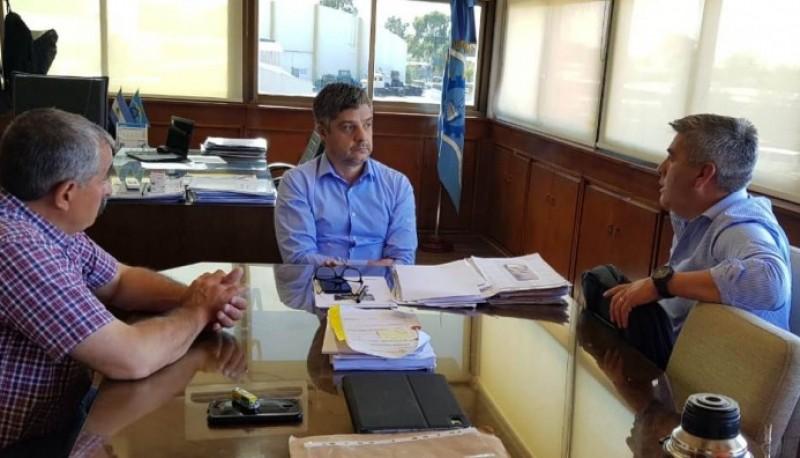 Aguilera se reunió con los intendentes de Epuyén, Gobernador Costa y Paso del Sapo