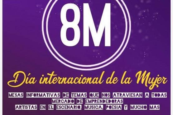 El ocho de marzo habrán actividades en el Gimnasio Municipal
