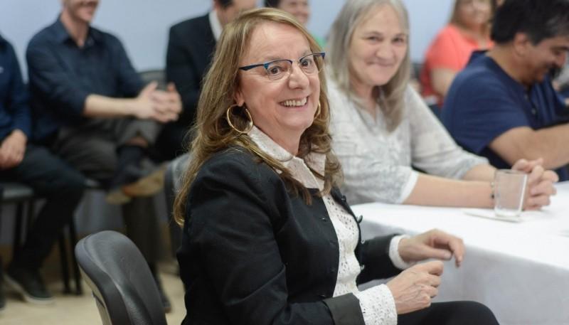 Alicia Kirchner, la gobernadora de Santa Cruz.