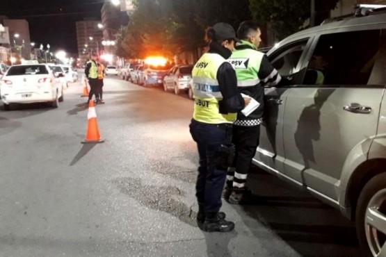 La Policía registró 12 test positivos por alcoholemia