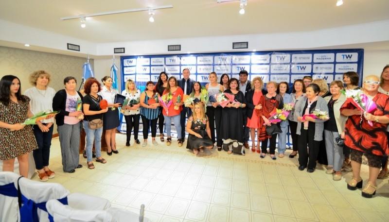 Maderna anunció el comienzo de la refacción del Centro Integral de la Mujer