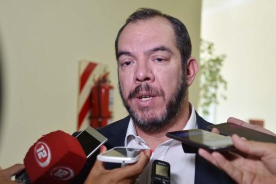 José María Grazzini, ministro de Gobierno y Justicia de la Provincia.