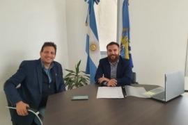 Se firmó convenio para terminar la estación de bombeo de Pico Truncado