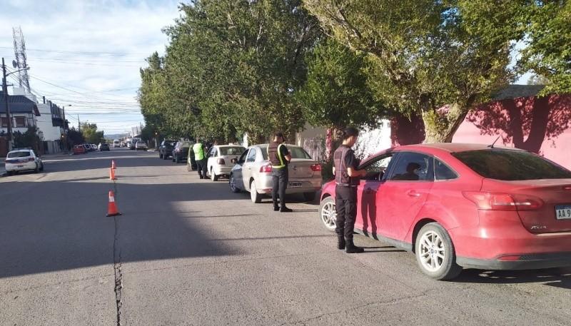 Se identificó un total de 15 vehículos.