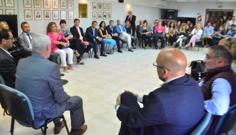 Magistrados se reunieron con el presidente del Superior Tribunal de Justicia.