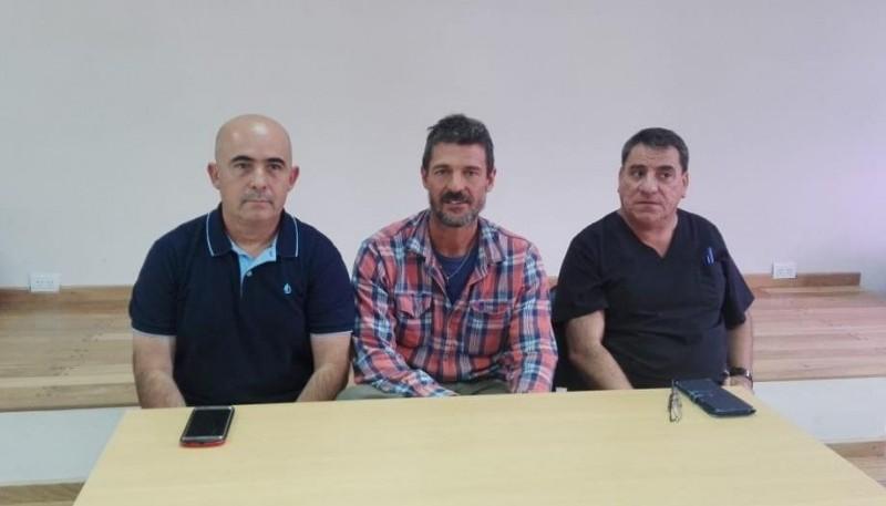 Roberto Alonso, Emiliano Biondo  y Sergio Cardozo.