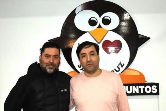 Javier Pérez junto a Pablo Grasso.