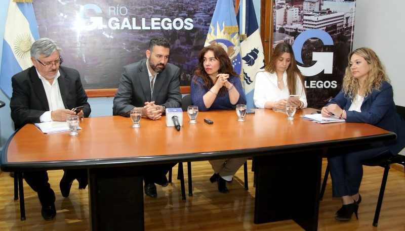 Conferencia de Prensa por la situación con la empresa de transporte de pasajeros Maxia.