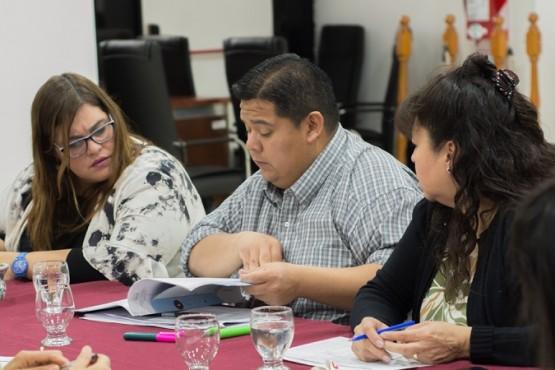 Lla Comisión de Presupuesto y Hacienda es presidida por el concejal Emilio Maldonad