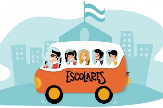 Confirman servicio de transporte escolar en todas las regiones