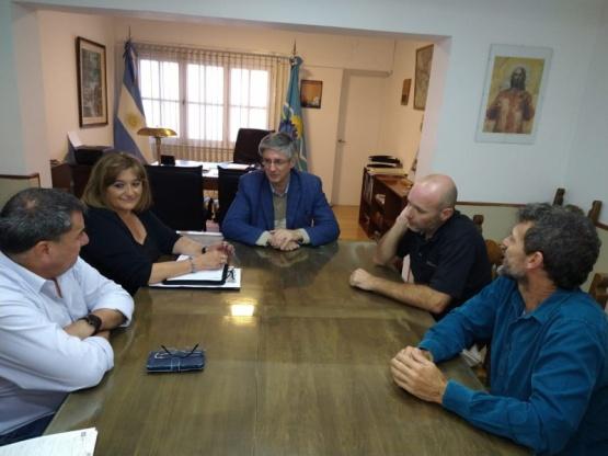 Ongarato se reunió con entidades por el Coronavirus