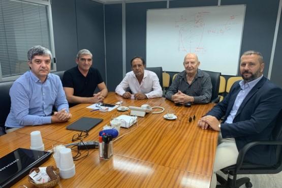 Aguilera se reunió con el secretario de Energía de Nación